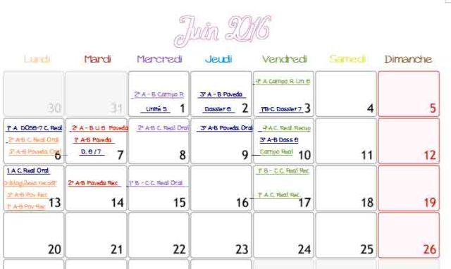 calendario imagen